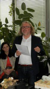 Martin Kasarda podal správu komisie pre ročné ceny Hlasu ľudu