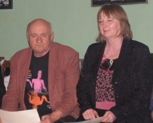 Ondrej Brna a Zuzana Tárnociová udeľovali Ceny poroty obecenstva