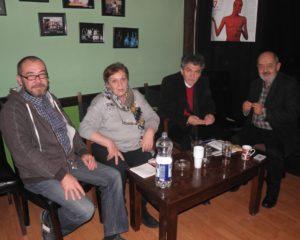 Členovia odbornej poroty a Milina Florianová, ktorá hodnotila kultúru hovoreného slova