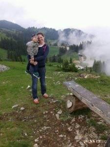 Irena Lomenová so synom Martinom (Foto: archív I.L.)