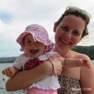 Hana Pavlovová s dcérou Laurou (Foto: archív H. P.)
