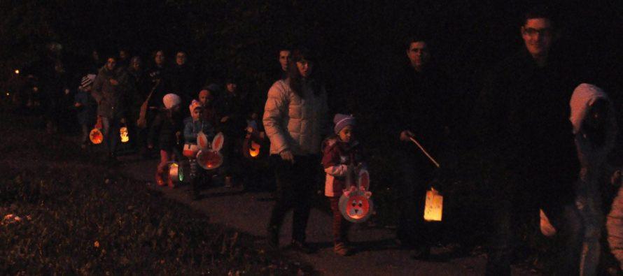 Tradičný lampiónový pochod v Pivnici