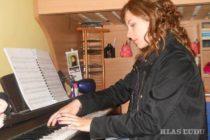 Hudba je jej životom