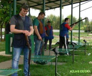 Strelecká súťaž v Lesíku na SNS 2015