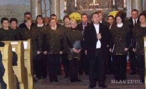 Slová vďaky od zborového farára Jaroslava Javorníka