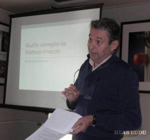 Spomienkový referát priniesol i bývalý kolega Martina Kmeťa profesor Deneš Fišteš