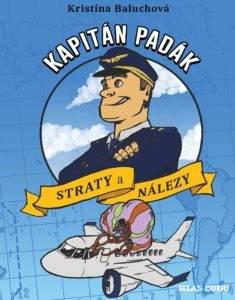 Kniha Kapitán Padák & Straty a nálezy