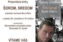 Prezentácia knihy v Kysáči