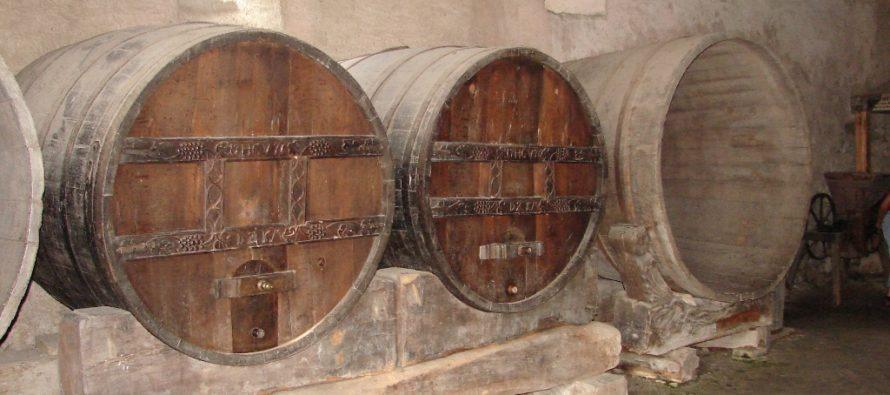 Najvhodnejšia podmienky na skladovanie vína