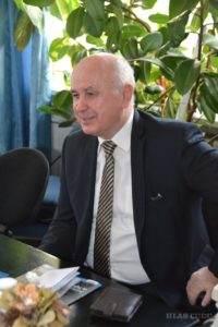 Dr. Ján Varšo v Hlase ľudu (Foto: O. Filip)