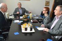Predseda Úradu pre Slovákov žijúcich v zahraničí Dr. Ján Varšo na návšteve Hlasu ľudu