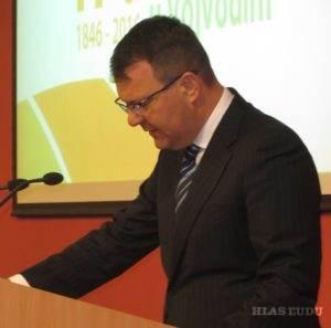 Pozdravný prejav mal Igor Mirović