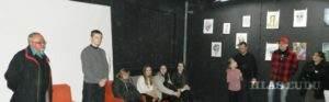 Vystavu slávnostne otvoril Pavel Cicka. Na snímke prvý zľava.