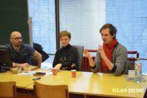 Litera Tour: Krajňak a Michalík na Oddelení slovakistiky