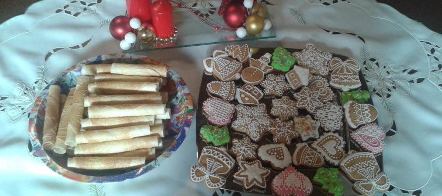 Vianočné oblátky a trubičky ako špecialita slovenských Vianoc