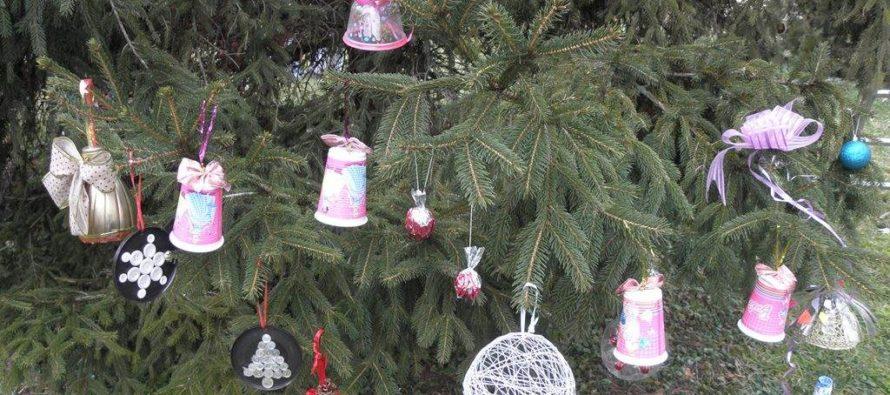 Vianočný stromček v Kysáči