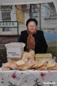 Na Vianočných trhoch 2015 ich predávala aj Zuzana Lekárová