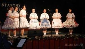 Aj dievčenská spevácka skupina zožala potlesk obecenstva