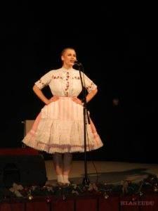 Jana Stupavská si zase zaspievala