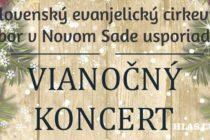 Vianočný koncert v novosadskom chráme Božom