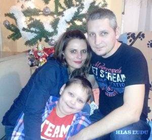 Ján so svojou rodinou