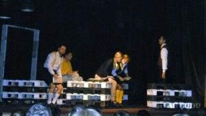 Na snímke je momentka z vystúpenia Pivničanov