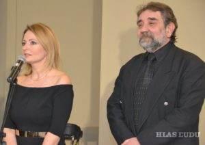 Dalila Ljubičićová i Zoran Sekulić