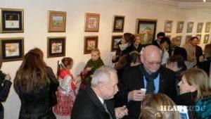 Bohatá výstava obrazov Panónska miniatúra v Galérii Babka i tohto roku príjemne prekvapila účastníkov oslavy Medzinárodného dňa materinského jazyka