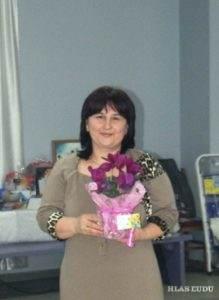 Najsympatickejšia dáma večierka Anna Halajová