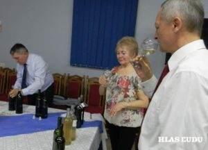 Posudzovatelia museli prihliadať nie len na chuť ale aj vôňu vína