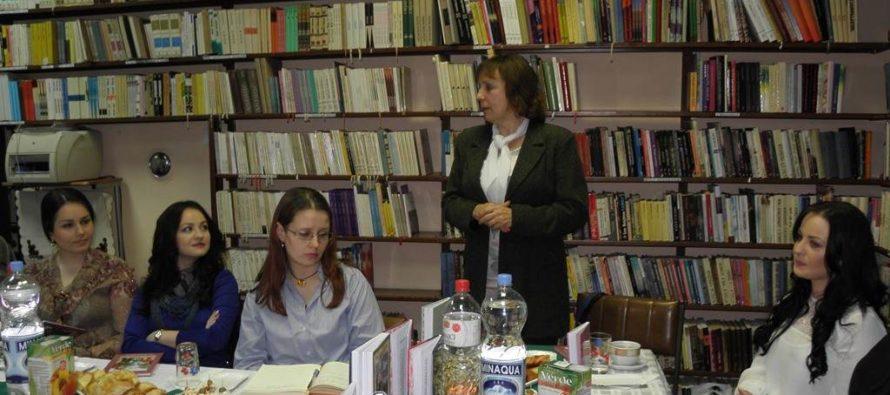 Zima s knihou v Kysáči