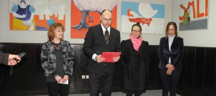 Výstava Svetlany Miháľovej v Kysáči