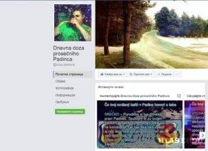 Foto: Facebook stránka Dnevna doza prosečniho Padinca