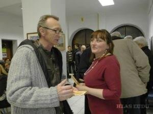 Sanja Papugová Anđelićová a Rastislav Škulec (Foto: J. Bartoš)