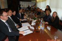 Štátny tajomník MZV a EZ SR Lukáš Parízek so spolupracovníkmi na návšteve v Starej Pazove