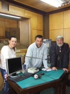 Novinársky trojlístok: (zľava) Tatiana jašková, Ján Černák a Miroslav Babiak