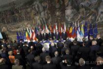 Lídri 27 krajín EÚ podpísali Rímsku deklaráciu