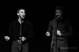 Daniel Cicka a Martin Labát (zľava)