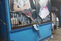 [VIDEO]: Neznámy páchateľ zapríčinil škodu v KC Kysáč