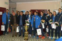 Stará Pazova: Slávnostné prijatie pre volejbalistky