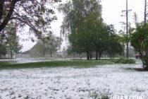 Aprílová súhra ohňa a snehu