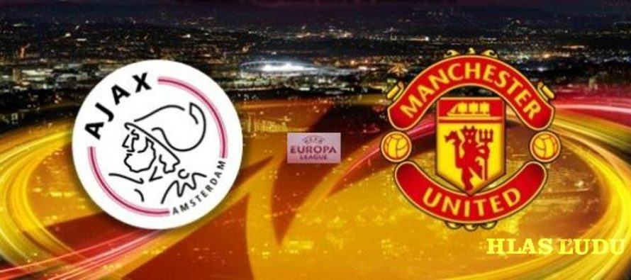 Vo finále Europa league Ajax a Manchester United