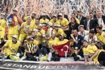 Šampiónom Euroleague je Fenerbahçe Istanbul!