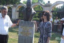 Odhalili bustu Lazara Dunđerského v kulpínskej aleji
