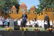 24. detský folklórny festival Zlatá brána v Kysáči