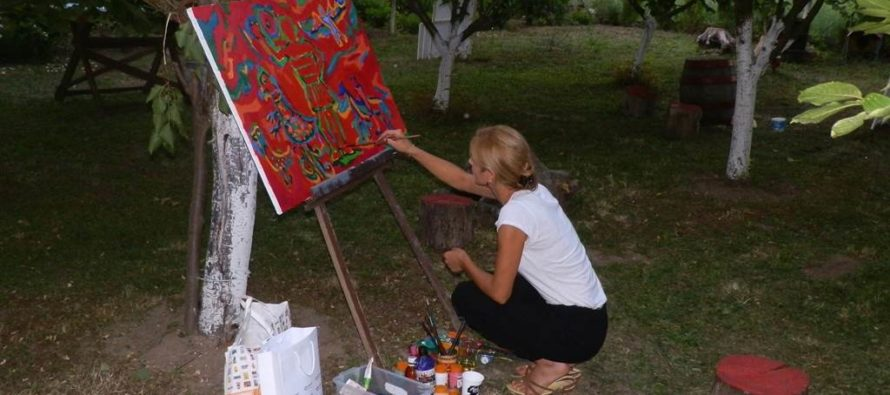Desiaty medzinárodný umelecký tabor Krčedín 2017