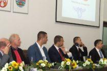 Delegácie partnerských miest u predsedu obce