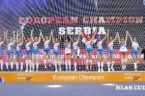 Volejbalistky šampiónky Európy!