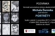 Portréty Michala Ďurovku
