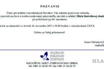 Večierok venovaný spisovateľke Márii Kotvášovej-Jonášovej
